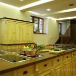 Interiér školy vaření