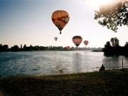 Vyhlídkový let balónem