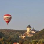Let balónem pro dva - Karlštejn