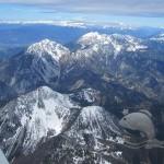 Vyhlídkový let nad Alpy